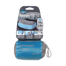 Sea to Summit Aeros Premium - regular gris/bleu